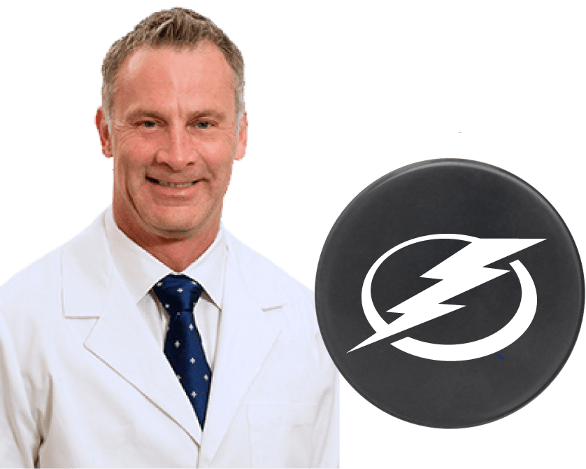 dr bain chiropractor for tampa bay lightning